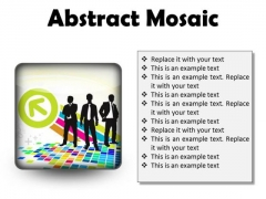 Abstract Mosaic Business PowerPoint Presentation Slides S