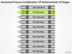 Acheivements 10 Stages Ppt Business Plan For Startup PowerPoint Templates