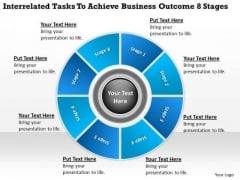 Achieve Business Outcome 8 Stages Small Plan PowerPoint Slides