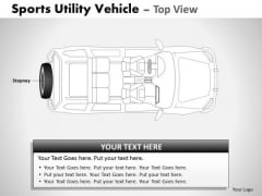 Action Sports Utility Blue Vehicle PowerPoint Slides And Ppt Diagram Templates