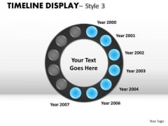Action Timeline Display 3 PowerPoint Slides And Ppt Diagram Templates