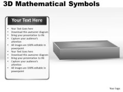 Addition 3d Mathematical Symbols PowerPoint Slides And Ppt Diagram Templates