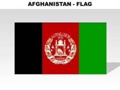 Afghanistan Country PowerPoint Flags