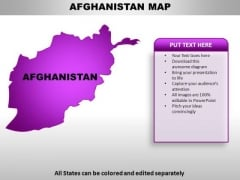 Afghanistan PowerPoint Maps
