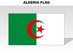 Algeria Country PowerPoint Flags