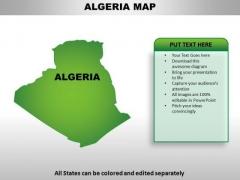Algeria PowerPoint Maps