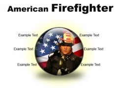 American Firefighter Youth PowerPoint Presentation Slides C