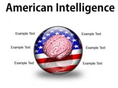 American Intelligence Metaphor PowerPoint Presentation Slides C