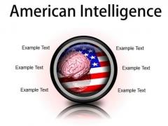 American Intelligence Metaphor PowerPoint Presentation Slides Cc