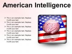 American Intelligence Metaphor PowerPoint Presentation Slides S