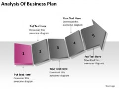 Analysis Of Business Plan Ppt Writing Up PowerPoint Slides