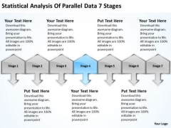 Analysis Of Parallel Data 7 Stages Ppt Cleaning Service Business Plan PowerPoint Templates