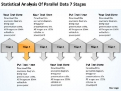 Analysis Of Parallel Data 7 Stages Ppt What Business Planning PowerPoint Templates