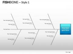 Analyze Fishbone Diagram PowerPoint Slides