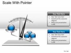 Analyze Scale With Pointer PowerPoint Slides And Ppt Diagram Templates