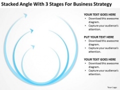 Angle With 3 Stages For Business Srategy Ppt Consignment Plan PowerPoint Templates