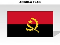 Angola Country PowerPoint Flags