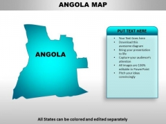 Angola PowerPoint Maps