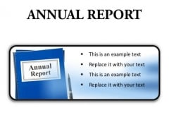 Annual Report Business PowerPoint Presentation Slides R