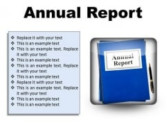 Annual Report Business PowerPoint Presentation Slides S