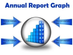 Annual Report Graph Success PowerPoint Presentation Slides C