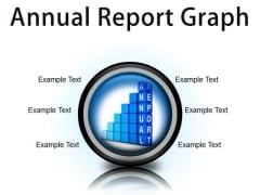 Annual Report Graph Success PowerPoint Presentation Slides Cc