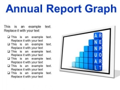 Annual Report Graph Success PowerPoint Presentation Slides F