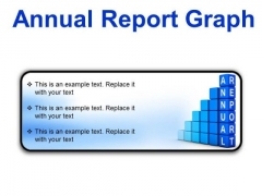 Annual Report Graph Success PowerPoint Presentation Slides R