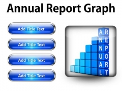 Annual Report Graph Success PowerPoint Presentation Slides S