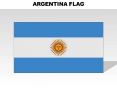 Argentina Country PowerPoint Flags