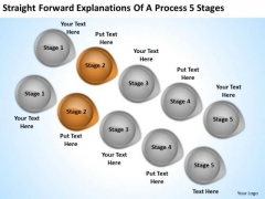 Arrow PowerPoint Of Process 5 Stages Ppt Templates Backgrounds For Slides