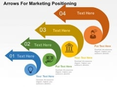 Arrows For Marketing Positioning PowerPoint Template