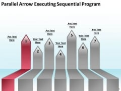 Arrows In PowerPoint Parallel Executing Sequential Program Templates
