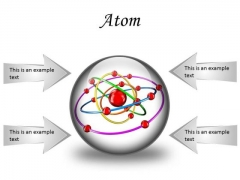 Atom Science PowerPoint Presentation Slides C