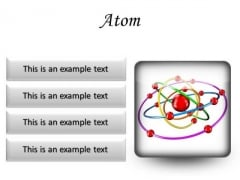 Atom Science PowerPoint Presentation Slides S