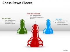 Attack Chess Pawn Pieces PowerPoint Slides And Ppt Diagram Templates