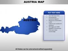 Austria PowerPoint Maps