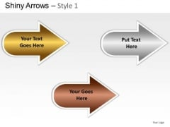 Automobile Shiny Arrows 1 PowerPoint Slides And Ppt Diagram Templates
