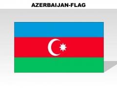 Azerbaijan Country PowerPoint Flags