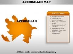 Azerbaijan PowerPoint Maps