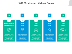 B2B Customer Lifetime Value Ppt PowerPoint Presentation Show Background Cpb