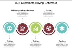 B2B Customers Buying Behaviour Ppt PowerPoint Presentation Layouts Infographics Cpb