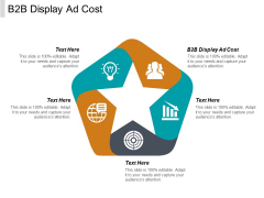 B2B Display Ad Cost Ppt PowerPoint Presentation Layouts Graphic Tips Cpb