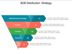 B2B Distribution Strategy Ppt PowerPoint Presentation Ideas Aids Cpb Pdf