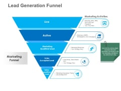 B2B Lead Generation Lead Generation Funnel Information PDF