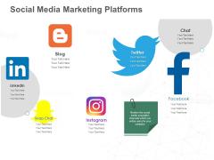 B2B Lead Generation Social Media Marketing Platforms Ppt Inspiration Ideas PDF