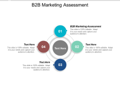 B2B Marketing Assessment Ppt PowerPoint Presentation Summary Graphics Download Cpb