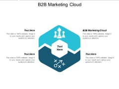 B2B Marketing Cloud Ppt PowerPoint Presentation Layouts Outfit Cpb