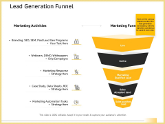 B2B Marketing Lead Generation Funnel Ppt Layouts Format Ideas PDF