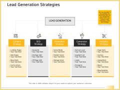 B2B Marketing Lead Generation Strategies Ppt Layouts Slide Portrait PDF